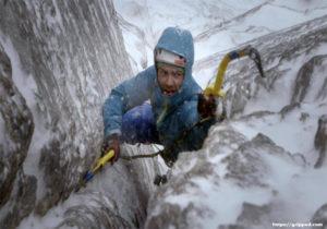 Prepared for Winter Climbing